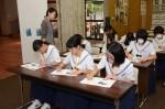 平成27年度体験入学<春日野中学校>【59】