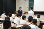 平成27年度体験入学<春日野中学校>【73】