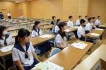 平成27年度体験入学<那珂川中学校>【7】