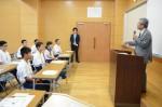 平成27年度体験入学<那珂川中学校>【8】