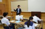 平成27年度体験入学<那珂川中学校>【9】