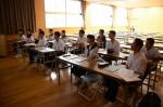 平成27年度体験入学<那珂川中学校>【11】