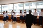 平成27年度体験入学<那珂川中学校>【17】