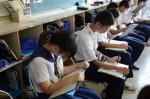平成27年度体験入学<那珂川中学校>【21】