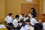 平成27年度体験入学<那珂川中学校>【37】