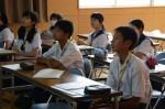 平成27年度体験入学<那珂川中学校>【52】