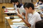 平成27年度体験入学<那珂川中学校>【58】