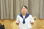 平成27年度体験入学<那珂川中学校>【61】