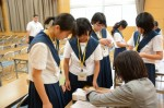 平成27年度体験入学<大野東中学校>【29】