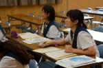 平成27年度体験入学<大野東中学校>【49】