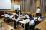平成27年度体験入学<大野東中学校>【50】