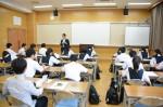 平成27年度体験入学<三宅中学校>【2】