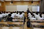平成27年度体験入学<三国中学校>【2】