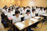 平成27年度体験入学<三国中学校>【5】