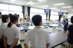平成27年度体験入学<三国中学校>【20】