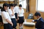 平成27年度体験入学<三国中学校>【63】