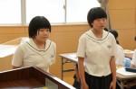 平成27年度体験入学<三国中学校>【76】