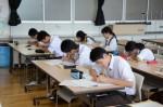 平成27年度体験入学<筑紫野中学校>【38】