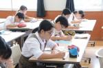 平成27年度体験入学<筑紫野中学校>【45】