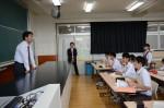 平成27年度体験入学<筑紫野中学校>【68】