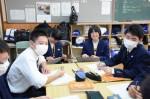 平成27年度体験入学<平野中学校>【16】