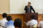 平成28年度体験入学<夜須中学校>【62】