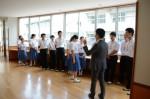 平成28年度体験入学<甘木中学校>【17】