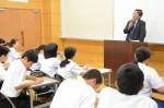 平成28年度体験入学<甘木中学校>【74】