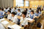平成28年度体験入学<太宰府中学校・那珂川中学校>【8】