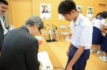 平成28年度体験入学<太宰府中学校・那珂川中学校>【42】