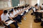 平成28年度体験入学<太宰府中学校・那珂川中学校>【52】
