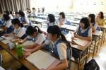 平成28年度体験入学<太宰府中学校・那珂川中学校>【68】