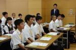 平成28年度体験入学<二日市中学校>【7】