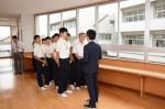 平成28年度体験入学<二日市中学校>【13】