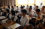 平成28年度体験入学<二日市中学校>【64】