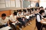 平成28年度体験入学<春日北中学校・筑山中学校>【25】