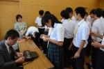 平成28年度体験入学<春日北中学校・筑山中学校>【63】