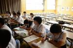平成28年度体験入学<春日野中学校>【15】