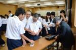 平成28年度体験入学<春日野中学校>【40】