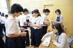 平成28年度体験入学<春日野中学校>【41】