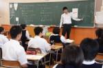 平成28年度体験入学<春日野中学校>【48】