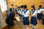平成28年度体験入学<大野東中学校>【36】