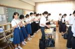 平成28年度体験入学<天拝中学校>【41】