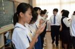 平成28年度体験入学<天拝中学校>【45】
