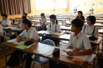 平成28年度体験入学<天拝中学校>【55】