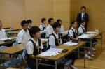 平成28年度体験入学<筑紫丘中学校>【7】