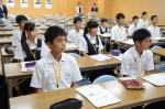 平成28年度体験入学<筑紫丘中学校>【8】