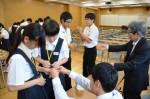 平成28年度体験入学<筑紫丘中学校>【53】