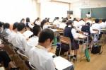 平成28年度体験入学<太宰府西中学校・板付中学校>【23】