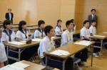 平成28年度体験入学<那珂川北中学校>【8】